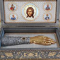 Орловскую митрополию посетят  ковчег с частицей мощей святителя Луки Крымского и