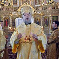 Владыка Антоний совершил Всенощное бдение в Богоявленском соборе города Орла