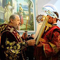 В канун Недели Торжества Православия Архипастырь совершил всенощное бдение в Мих