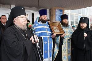 Слово Высокопреосвященнейшего архиепископа Пантелеимона по прибытии во Мценск Казанской иконы Божией Матери