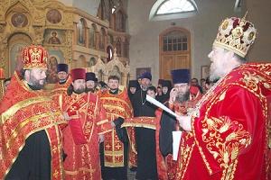 К Пасхе Христовой 2011 года ряд клириков Орловской епархии удостоены Патриарших наград