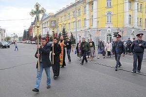 В день памяти блаженного старца Афанасия Андреевича Сайко в Орле прошел крестный ход