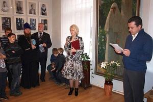 В музее Тургенева открылась выставка «Восхождение в Святость»