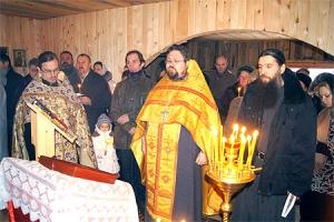 В Болхове прошли торжества по случаю 11-й годовщины обретения мощей священноисповедника Георгия Коссова