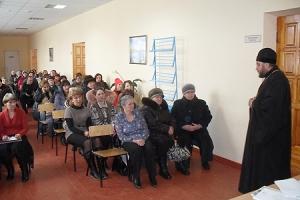 Благочинный Кромского округа обсудил с родителями школьников вопросы преподавания «Основ православной культуры»