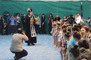 Представитель Орловской епархии напутствовал участников чемпионата области по художественной гимнастике