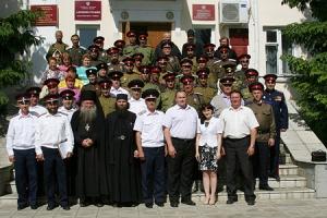 Руководитель епархиального отдела по взаимодействию с казачеством принял участие в круге