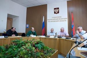 Глава Орловско-Ливенской епархии принял участие в заседании Общественного совета при УМВД