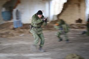 Состоялись зимние военно-полевые сборы орловских и мценских казаков