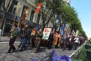 Крестный ход в день памяти Великомученика Георгия Победоносца в Орле. Фоторепортаж