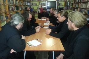 Духовенство Мценского благочиния обсудило документы Межсоборного присутствия и важнейшие события 2015 года