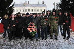 Священники Орловской епархии напутствовали первый казачий круг Кромского района