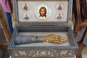 Орловскую митрополию посетят ковчег с частицей мощей святителя Луки Крымского и икона святых Киприана и Иустины с частицами мощей