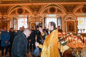 Священнослужители Орловской митрополии напутствуют призывников