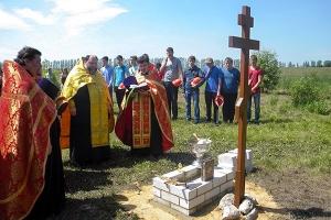 В Ливенском районе появится часовня в честь Новомучеников и исповедников Россий