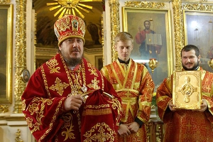 Ливенская епархия отметила вторую годовщину архиерейской хиротонии епископа Нектария
