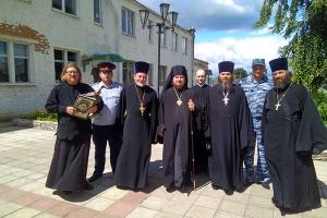 Духовенство посетило мценскую колонию-поселение