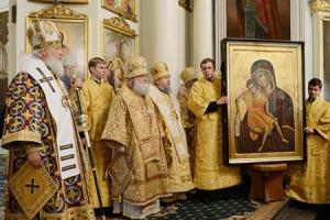 В день 5-й годовщины интронизации Святейшего Патриарха Кирилла в храмах Орловской епархии молились о здравии Предстоятеля