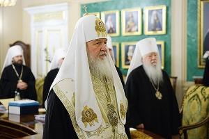 В Москве прошло последнее в 2016 году заседание Священного Синода Русской Правос