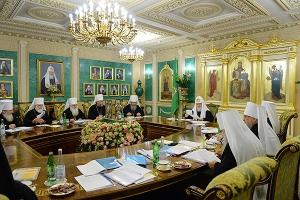 Заседание Священного Синода РПЦ прошло в канун юбилейных торжеств в честь 100-ле