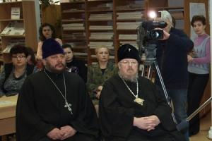 Выставка православной книги «Радость слова» открылась в Орловской областной библиотеке им. Бунина