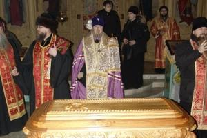 Исполнилось десять лет с момента  обретения мощей священноисповедника Георгия Коссова