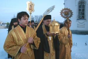 В Орёл доставлен ковчег с частицей мощей Святителя Николая Мирликийского