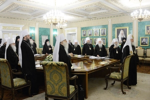 Прошло заседание Священного Синода