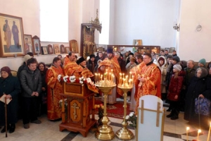 Божественная Литургия в Татьянин День в Смоленском храме