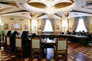 Святейший Патриарх Кирилл возглавил первое в 2013 году заседание Высшего Церковного Совета Русской Православной Церкви