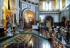 Патриарх Кирилл: Церковь всегда была залогом мира и единства народов России и Украины