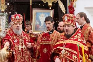День своего тезоименитства отметил секретарь Орловско-Ливенской епархии архимандрит Нектарий (Селезнёв)