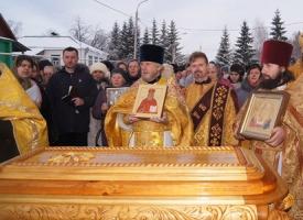 14-я годовщина обретения мощей священноисповедника Георгия Косова