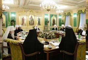 Состоялось последнее в этом году заседание Священного Синода Русской Православной Церкви
