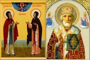 В Свято-Троицкий храм прибыли мощи святителя Николая  и святых благоверных Петра и Февронии