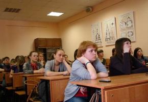 Епархиальный Центр защиты материнства и детства провёл встречу со студентами ОГУ