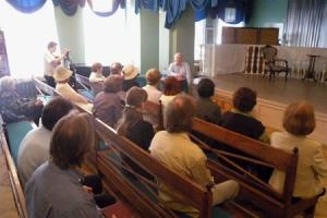 В рамках фестиваля «Святой Георгий» прошла встреча с Владимиром  Невяровичем исследователем творчества С.С.Бехтеева