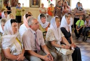 Участники областного семинара женсовета побывали в Георгиевском храме города Ливны