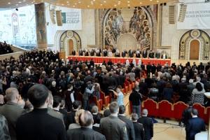 Предстоятель Русской Церкви возглавил церемонию открытия XVI Всемирного русского народного собора