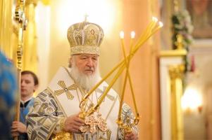 Патриарх Кирилл напоминает, что святые никому не помогают «автоматически»