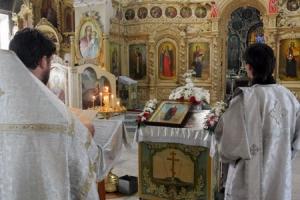 В Богоявленском соборе впервые был прочитан акафист великомученику Иоанну Сочавскому