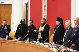 Епископ Нектарий поблагодарил казаков региона за помощь в проведении церковных м