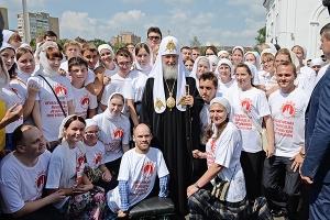 В День Крещения Руси Предстоятель Русской Церкви возглавил церковные торжества в