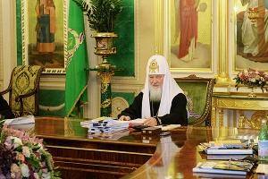 Священный Синод поблагодарил главу Орловской митрополии за организацию Патриарше