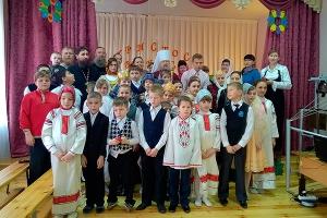 Архипастырь поздравил воспитанников волховской православной гимназии с Воскресен