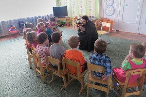 Православные волонтеры Мценска посетили Мценский детский дом