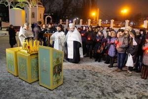 Православная молодежь Орла провела акцию памяти жертв крушения Ту-154 Минобороны