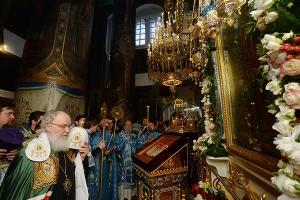 Слово Святейшего Патриарха Кирилла после Литургии в день 100-летия обретения Дер