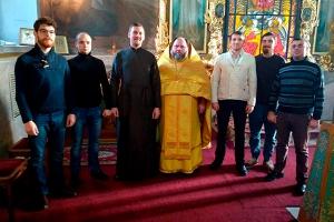 Исполнилось пять лет со времени создания мужского хора Богоявленского собора