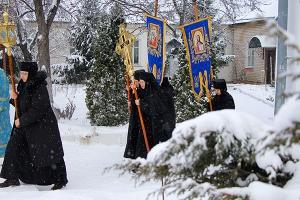 «Богородицы празднующе в невходимых предшествие». Престольный праздник Свято-Вве